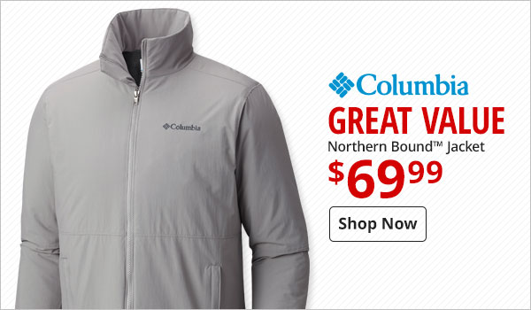 $69.99 Columbia Northern Bound Jacket