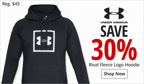 Save 30% Under Armour Rival Fleece Logo Hoodie