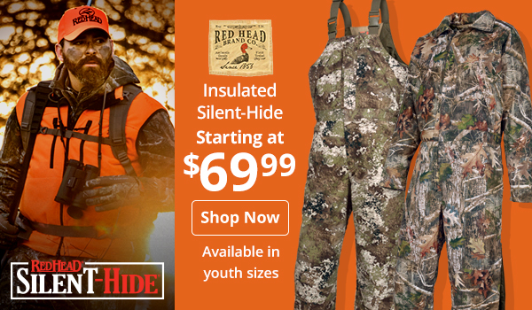 Insulated RedHead Silent-Hide Starting at $69.99