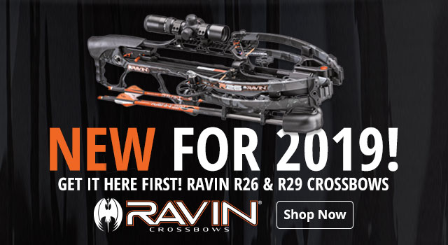 NEW For 2019 | Ravin r26 & r29 Crossbows - Shop Now