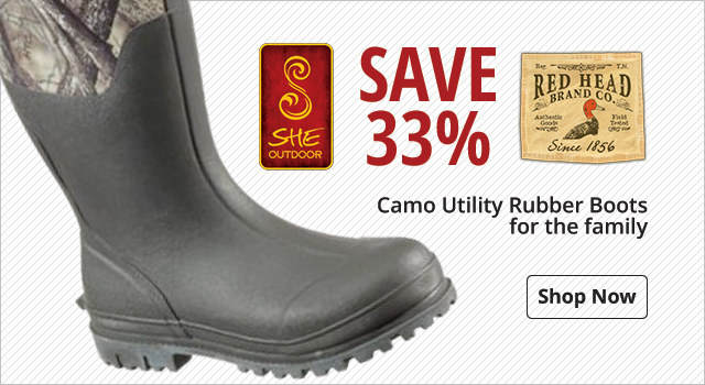Save 33% on Rubber Boots for the Family - Shop Now
