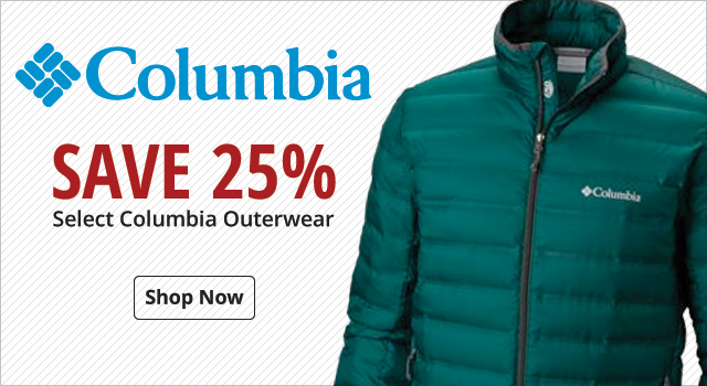 Save 25% on Columbia Outerwear - Shop Now
