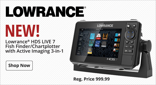 New Lowrance Fishfinder/Chartplotter - Shop Now