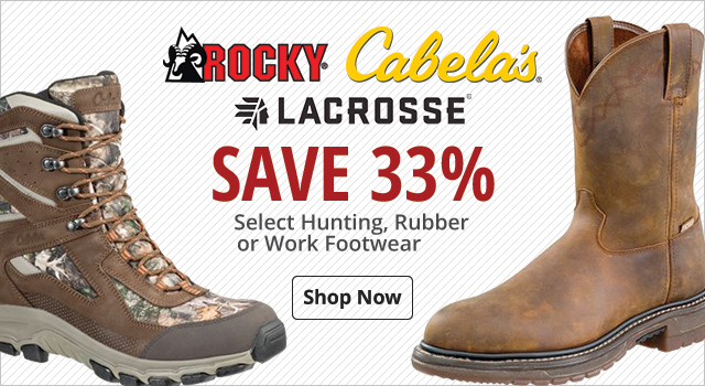 Save 33% Select Boots - Shop Now