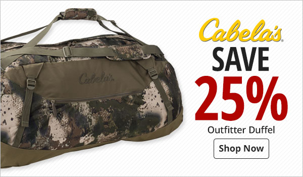 Cabela's Outfitter Duffel - Shop Now