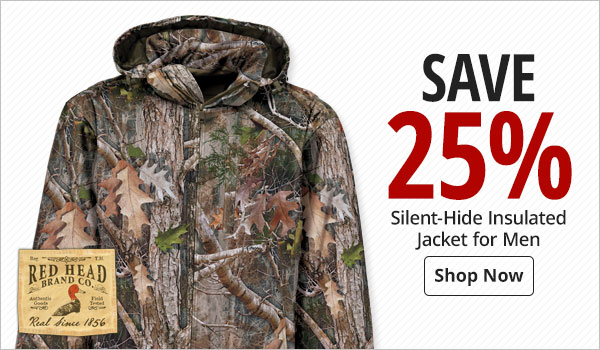 RedHead Silent-Hide Insulated Jacket for Men - Shop Now