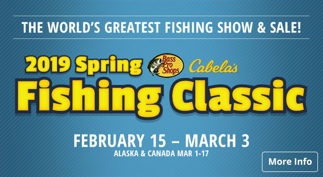 2019 Spring Fishing Classic - More Info