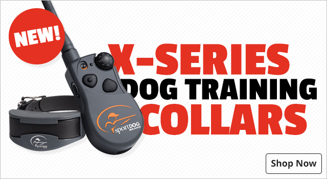 SportDOG Brand X-Series Electronic Dog Training Collars - Shop Now