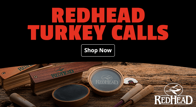 New RedHead Turkey Calls - Shop Now