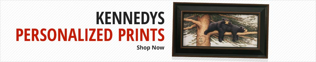 Perfect Valentine's Day Gift. Kennedys Personalized Prints
