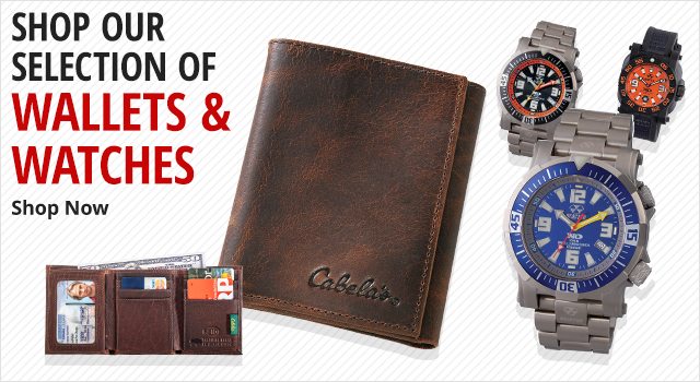 Shop Our Selection Of Wallets & Watches