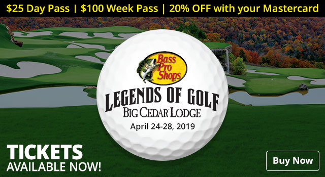 Legends of Golf Tickets Available Now - Buy Now