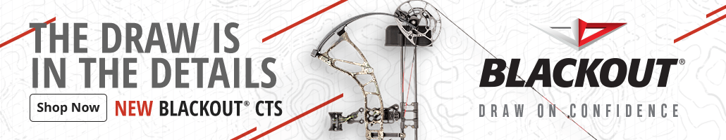 NEW BlackOut CTS Compound Bow - Shop Now