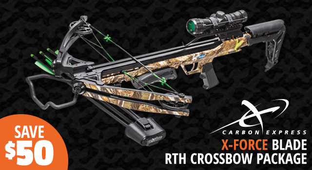 Carbon Express X-Force Blade Crossbow Package - Shop Now