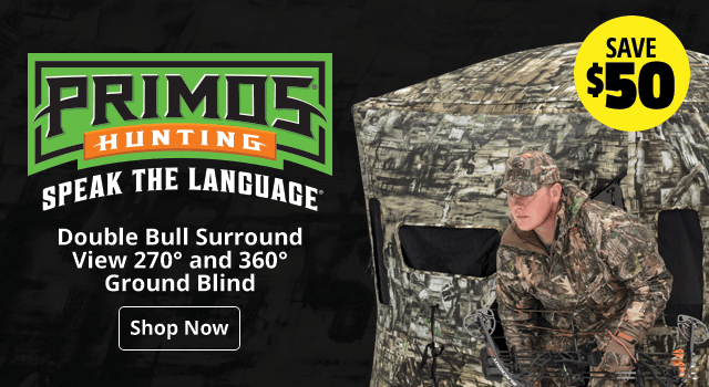 rimos® Double Bull Surround View 270° and 360° Ground Blind - Shop Now