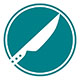 knife sharpening icon