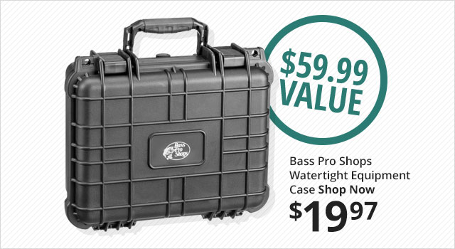 Bass Pro Shops Watertight Equipment Case