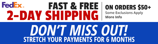 Fast & Free Shipping on Orders $50+