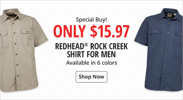 Special Buy! Only $15.97 - RedHead Rock Creek Shirt for Men - Shop Now