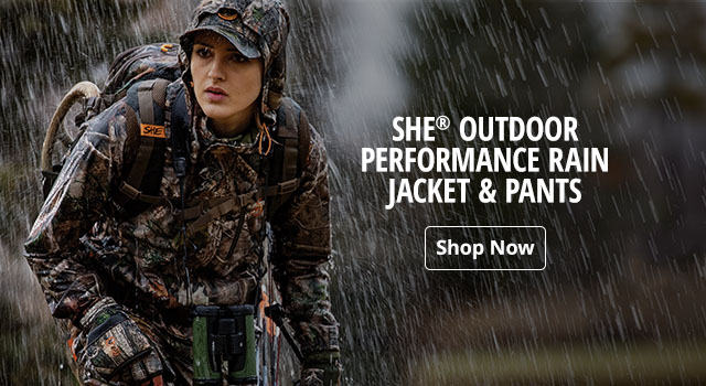 SHE Outdoor Performance Rain Jacket & Pants - Shop Now