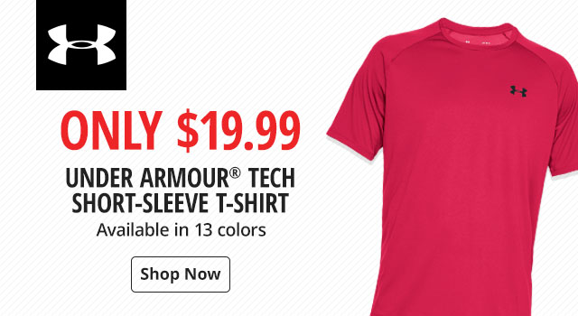 Only $19.99 on Under Armour Tech Short-Sleeve T-Shirt - Shop Now