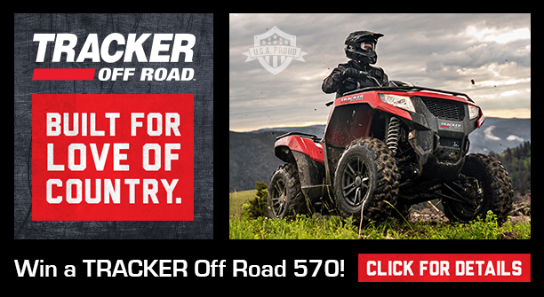 Win a Tracker Off Road 570!