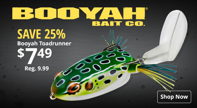 Save 25% on Booyah Toadrunner