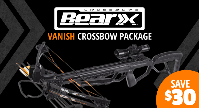 Bear Archery® X Vanish Crossbow Package - Shop Now