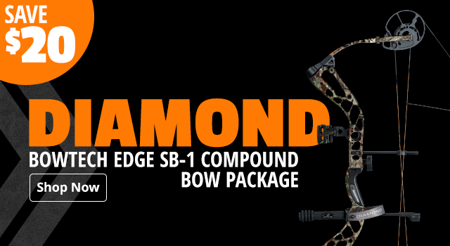 Diamond by Bowtech Edge SB-1 Compound Bow Package - Shop Now