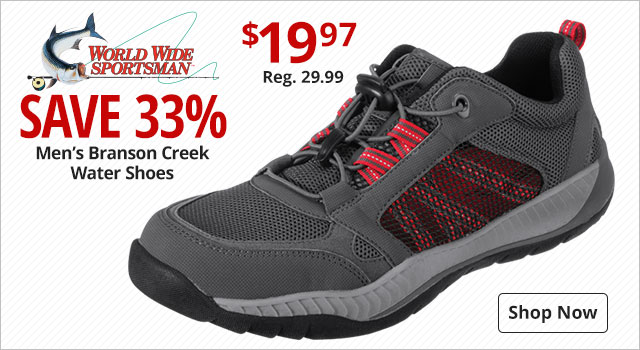 30af2a59a451 Save 33% on Men s World Wide Sportsman Branson Creek Water Shoes