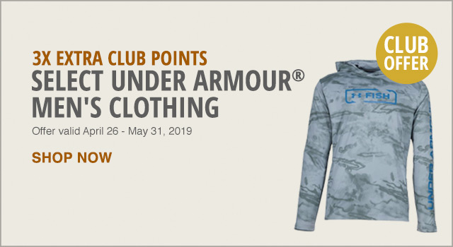Under Armour 3x points Club offer - Shop Now