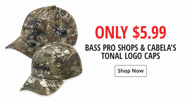 Only $5.99 Bass Pro Shops & Cabela's Tonal Logo Caps - Shop Now