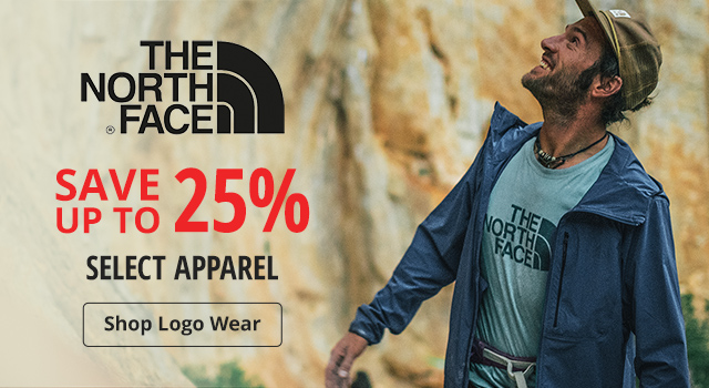 25% off select The North Face - Shop Now