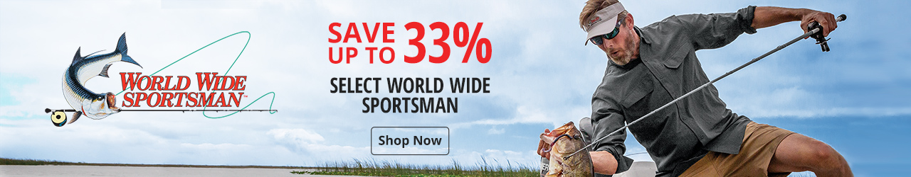 Save up to 33% on select World Wide Sportsman - Shop Now