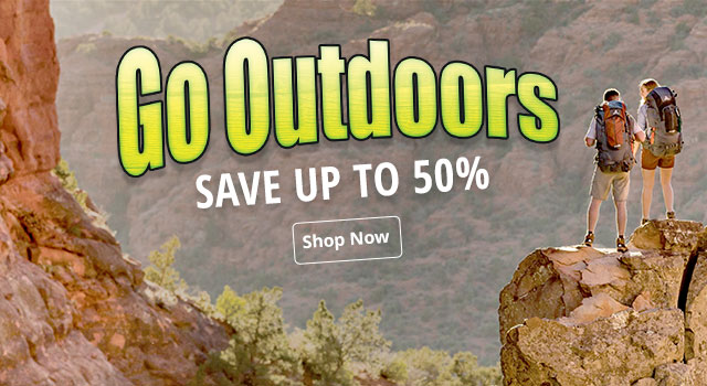 Go Outdoors Sale. Save up to 50%