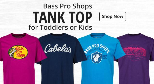 3591ad619fd Bass Pro Shops or Cabela s Kids  T-Shirts