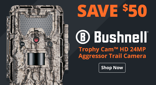 Bushnell® Trophy Cam™ HD 24MP Aggressor Trail Camera - Shop Now