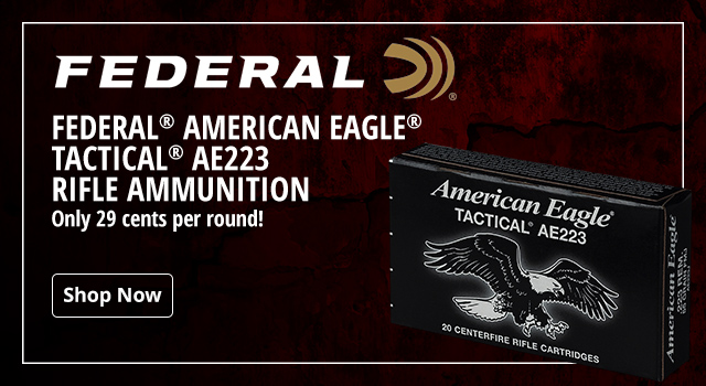476f055a85 Federal American Eagle Tactical AE223 Rifle Ammunition - Shop Now