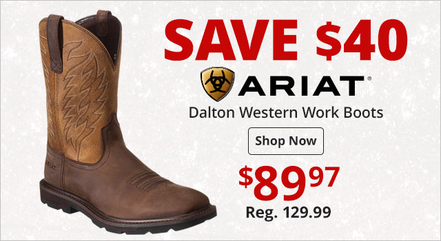 0daed378f Save  40 on Ariat Dalton Western Work Boots