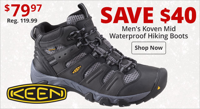 c308e66a1 Save  40 on Keen Koven Mid Hikers
