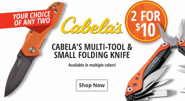 Cabela's Multi-Tool & Folding Knife - Shop Now