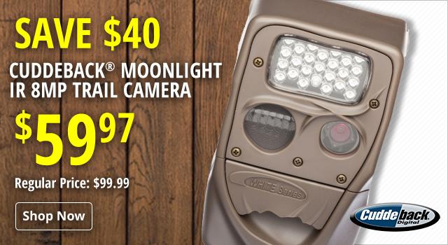 Cuddeback Moonlight IR Game Camera - Save $40