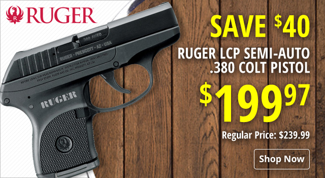 Ruger LCP Semi-Auto Pistol - Save $40