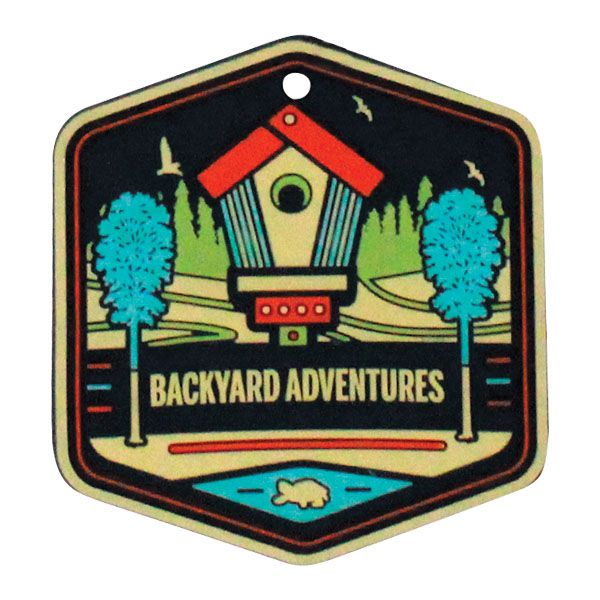 Backyard Adventures Badge