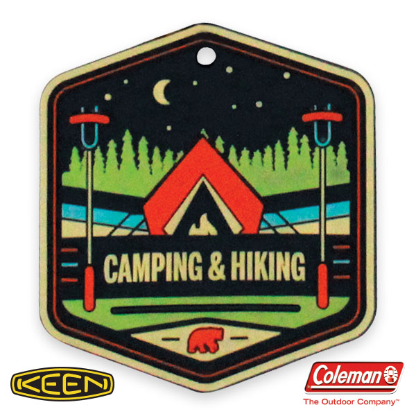 Camping & Hiking Badge