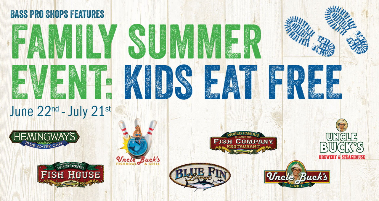 Family Summer Event: Kids Eat Free