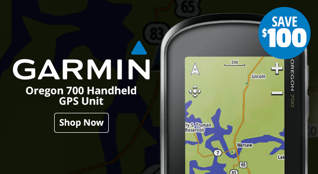 Garmin Oregon 700 Handheld GPS Unit - Shop Now