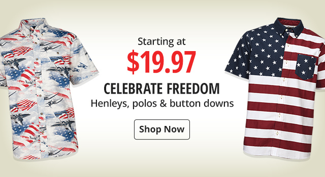 322f48ff57 Celebrate Freedom with Americana Apparel Starting at $19.97 - Shop Now