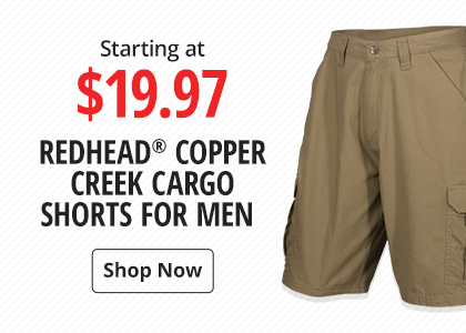 50fa4fa253 Starting at $12.97 RedHead copper creek cargo shorts for men - Shop Now ...