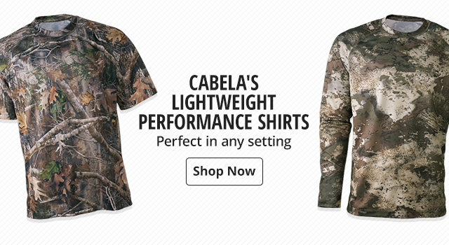 5970f262502b6 Cabela's Lightweight Performace Shirts - Shop Now